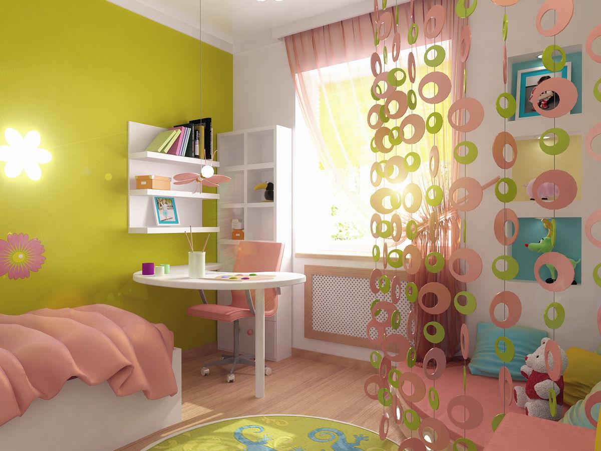 Идеи для ремонта детской комнаты своими руками 33