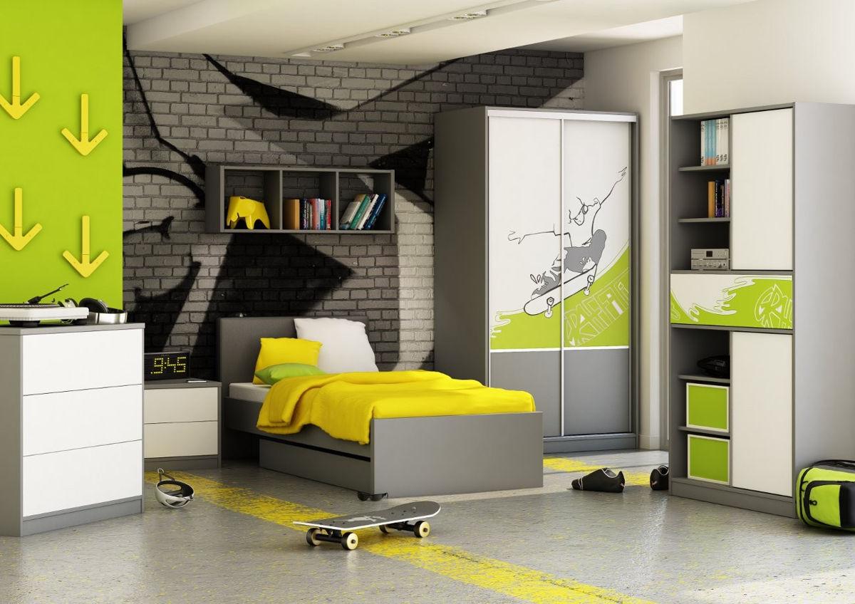 Дизайн подростковой мальчиков
