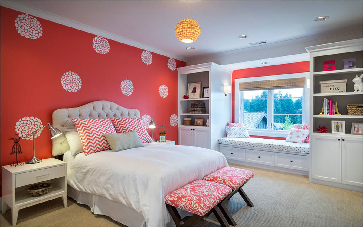 Дизайн комнаты девушки фото