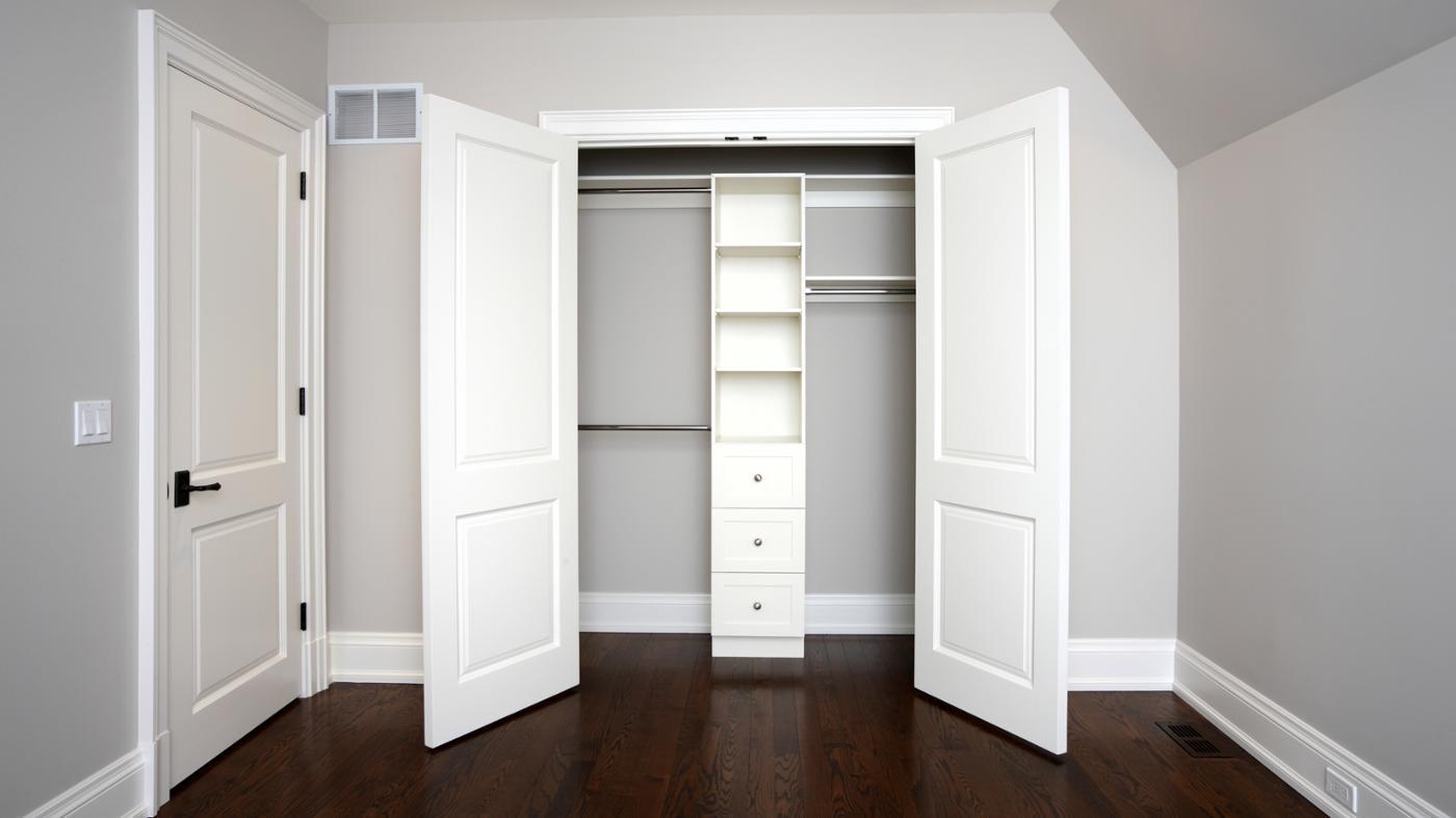 Дизайн гардеробной комнаты - фото интерьера гардеробных..
