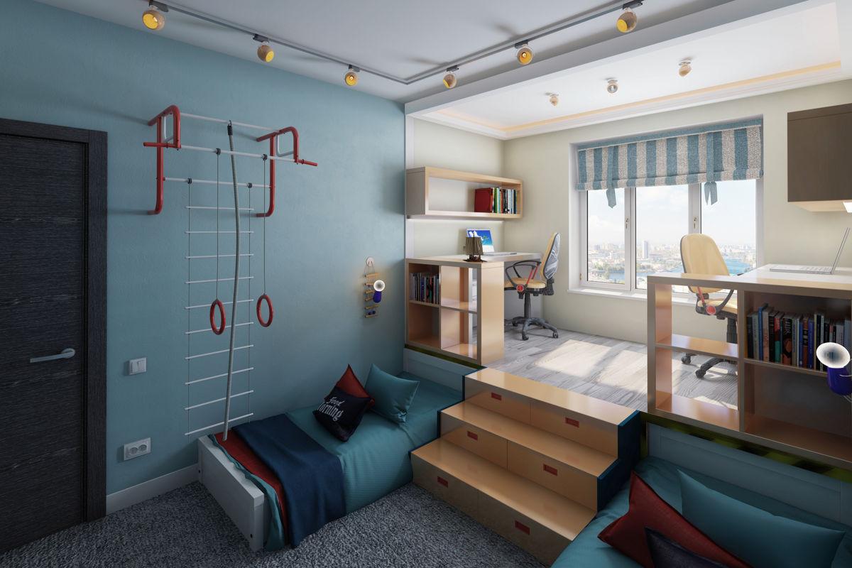 дизайн детской комнаты фото интерьера детской
