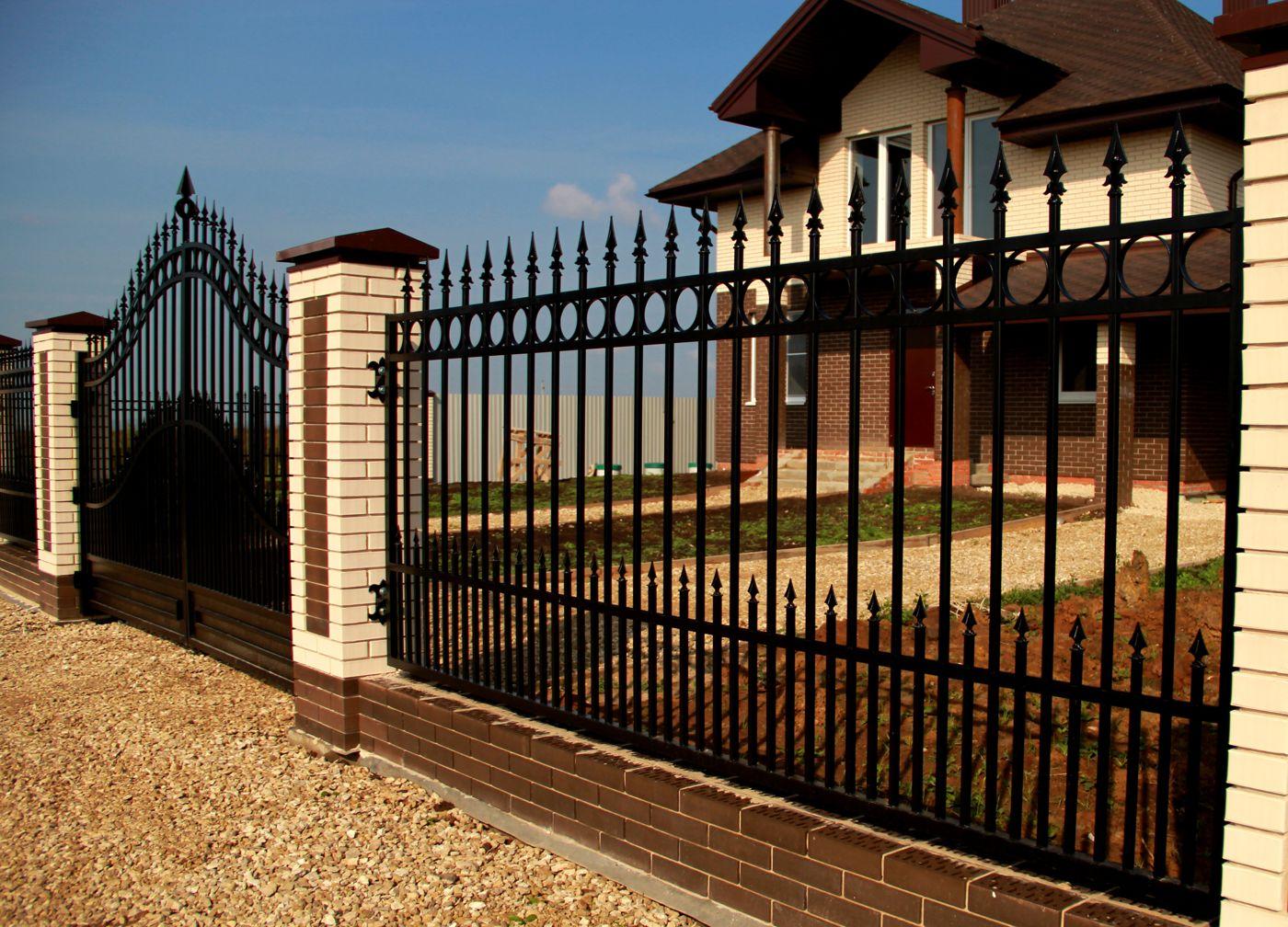 Забор решеткой своими руками фото 170